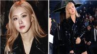 Rose Blackpink đẹp 'hút hồn' tại sự kiện thời trang ở Pháp, 'tình tứ' chụp ảnh bên Ezra Miller