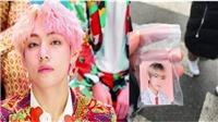 Fan săn lùng đồ lưu niệm mới của V BTS, cháy hàng trong nháy mắt