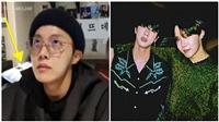 J-Hope BTS livestream 'khoe' ARMY đồ tặng sinh nhật từ Jin