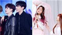 Sao Kpop thành người tí hon khi đứng cạnh nhau: BTS, Twice, Seventeen