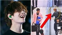 'Chết ngất' với cách V 'quan tâm' các thành viên BTS
