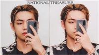 Minh chứng V BTS là 'báu vật quốc gia'