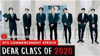 V BTS được khen ngợi vì hành động này trong 'Dear Class Of 2020'