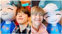 BTS bất ngờ đăng ảnh check-in tại 'House of BTS' ở Gangnam