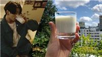 ARMY sẽ không thể tin điều Jungkook BTS làm được chỉ với một cốc sữa