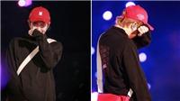 RM BTS bật khóc trên sân khấu ngày kết thúc tour 'Love Yourself: Speak Yourself'