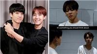 Jungkook BTS rơi nước mắt trước lời khuyên cảm động của J-Hope