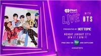 BTS xác nhận tham gia iHeartRadio ngay sau Tết Seollal