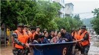 Trung Quốc nâng mức cảnh báo về tình trạng mưa dông