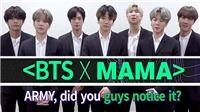 Có gì đặc biệt từ BTS tại MAMA 2019 sắp tới?