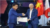 Chủ tịch Hà Nội Nguyễn Đức Chung được trao tặng Huân chương Công trạng của Italia