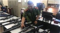 Triệt phá đường dây nhập lậu, mua bán linh kiện súng săn ở Hà Nội