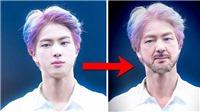 'Chết cười' Jin BTS than thở đau chân vì 'tuổi già', V vào giải cứu