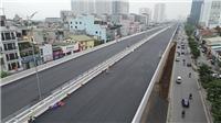 Thông xe cầu cạn Mai Dịch - Nam Thăng Long đúng ngày kỷ niệm Giải phóng Thủ đô