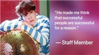 Nhân viên tiết lộ tính cách ngoài đời thực của J-Hope BTS