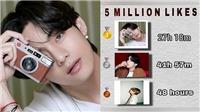 V BTS là sao Kpop duy nhất 'thống trị' Instagram