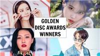 Giải Golden Disc: IU giành Daesang, BTS xuất hiện đủ 7 thành viên