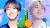 10 nhóm nhạc nam K-pop bán chạy nhất mọi thời đại