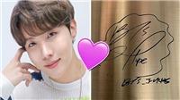 Cảm động trước thư tay J-Hope BTS gửi tới ARMY tại tác phẩm nghệ thuật công cộng