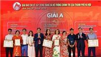 Giải thưởng giải báo chí thành phố Hà Nội lần thứ III: TTXVN đoạt 6 giải