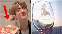 ARMY 'sướng điên' vì khiến Jin BTS phải uống rượu mừng 'Dionysus'