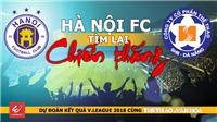 Vòng 15 V-League: Hà Nội FC tìm lại chiến thắng?