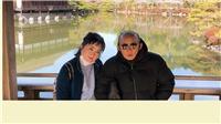 HLV Park Hang Seo 'cực ngầu' du lịch Nhật Bản cùng vợ con