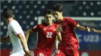 Bóng đá U23 châu Á hôm nay 14/1: U23 Thái Lan đấu với U23 Iraq, U23 VN chơi tấn công trước Triều Tiên