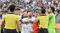 Argentina 2-1 Chile: Messi dính thẻ đỏ, Argentina giành hạng Ba ở Copa America 2019