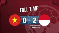 U15 Việt Nam 0-2 U15 Indonesia: Hàng thủ mắc sai lầm, U15 Việt Nam thua trận ra quân