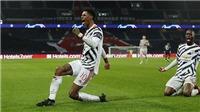 Kết quả bóng đá PSG 1-2 MU: Martial phản lưới nhà, MU vẫn giành chiến thắng trên sân khách