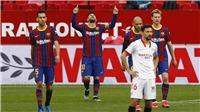 Sevilla 0-2 Barcelona: Messi solo đẳng cấp, Barca giành 3 điểm trên sân khách