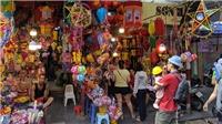 VIDEO: Phố Hàng Mã rực rỡ sắc màu đón Trung thu sớm