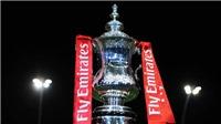 Kết quả, lịch thi đấu và truyền hình trực tiếp vòng 5 cúp FA