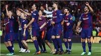 Real không xếp hàng chào đón, Barca ăn mừng theo cách không giống ai