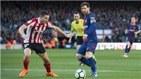 Barca 2-0 Bilbao: Vẫn là Messi tỏa sáng, Barca xây chắc ngôi đầu