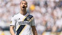 Ibrahimovic: 'Tôi sút xa ghi bàn vì... quá mệt để chạy'