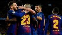 ĐIỂM NHẤN Barca 4-1 Roma: 'Sát thủ tàng hình' giỏi gần bằng Messi. Iniesta tuyệt hảo. 'Sóng thần' Liga ở châu Âu