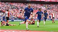Chelsea 2-0 Southampton: Morata, Giroud lập công; Chelsea đấu M.U ở chung kết cúp FA (KT)