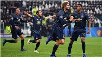 ĐIỂM NHẤN Juventus 1-2 M.U: Juve quá 'đen'. M.U tinh thần tuyệt hảo