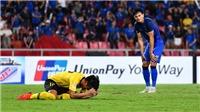 Thái Lan bị loại sốc không phải vì Adisak Kraisorn sút hỏng 11m