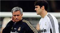 Kaka tiết lộ bí mật  'đau lòng' về Mourinho thời còn ở Real Madrid