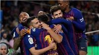 VIDEO Barca 6-1 Sevilla: Hủy diệt Sevilla, Barca vào bán kết cúp Nhà Vua