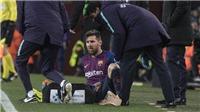 VIDEO Barca 2-2 Valencia: Barca hòa 'hú vía', Messi chấn thương, có thể nghỉ trận 'Kinh điển'