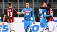 VIDEO Milan 0-0 Napoli: Níu chân nhau ở San Siro, Juve hưởng lợi