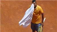 Nick Kyrgios đập vợt, xô ghế, chửi trọng tài ở Rome Masters