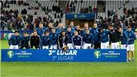 ĐIỂM NHẤN Argentina 2-1 Chile: Trận đấu của Messi. Chia tay thế hệ 'vàng' Chile