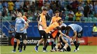 ĐIỂM NHẤN Uruguay 0-0 Peru (pen. 4-5): Luis Suarez là tội đồ, Uruguay gục ngã trước VAR
