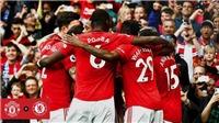MU 4-0 Chelsea: Rashford lập cú đúp, Pogba rực sáng, MU thắng tưng bừng (KT)