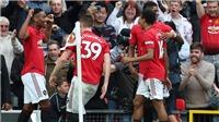 MU 4-0 Chelsea: Thày trò Solskjaer hủy diệt Chelsea trong ngày Pogba, Rashford rực sáng